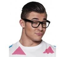 Brillen: Partybril zwart
