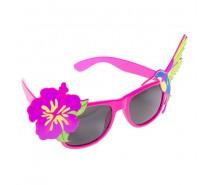 brillen:  Bril met bloem en vogel