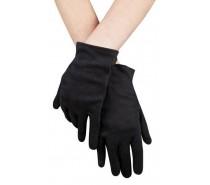 Handschoenen: pols Basic zwart