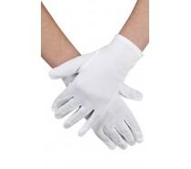 Handschoenen: pols Basic wit
