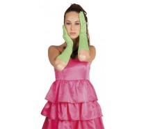 Handschoenen:  Elleboog Nice Neon Groen
