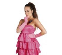 Handschoenen:  Elleboog Nice Neon Rose
