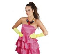 Handschoenen:  Elleboog Nice Neon Geel