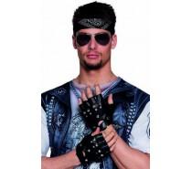 Handschoenen: Handschoenen pols Biker  (punk)