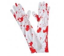 Halloween: Handschoenen met bloed