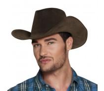 Hoeden: Cowboyhoed Nevada Leatherlook