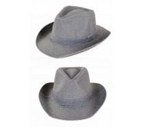 Hoeden: Cowboyhoed Zilver glitter
