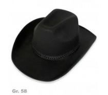 Hoeden: Cowboyhoed Zwart