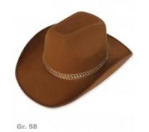 Hoeden: Cowboyhoed Bruin