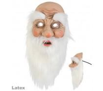 Latex masker: Kerstman masker