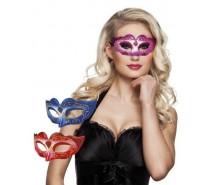 Oogmasker: Venice glitter promo 3 kleuren