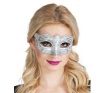 Oogmaskers: Venice felina zilver
