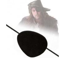 Piraat: ooglapje stof
