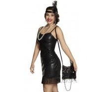 Tassen: Handtasje Flapper (25 cm)