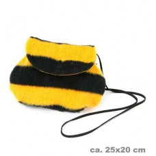 Tassen: Tas Bijen Kleuren Zwart-Geel