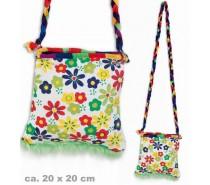 Tassen: Een Hippie tasje met bloemen