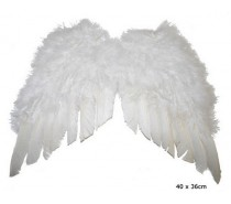 Vleugels: Engelenvleugels  Wit (40 x 36 cm)