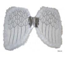 Vleugels: Engelenvleugels  Wit ( 36 cm )