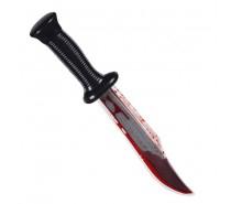 Bloederig mes (33 cm)
