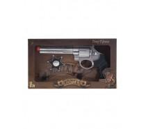 Revolver met sheriff ster
