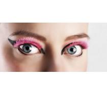 Wimpers Zelfklevend: Basic Neon Roze