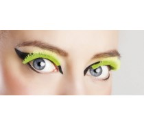 Wimpers Zelfklevend: Basic Neon Geel