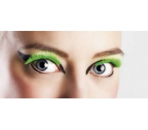 Wimpers Zelfklevend: Basic Neon Groen