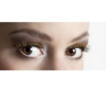 Wimpers Zelfklevend: Glitter Goud