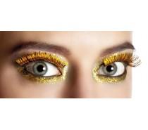 Wimpers Zelfklevend: Metallic goud