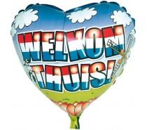 Folie Ballon: Welkom Thuis (1)