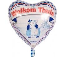 Folie Ballon: Welkom Thuis (2)