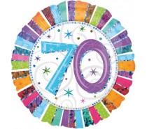Folie Ballon: 70 Jaar