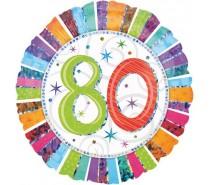 Folie Ballon: 80 Jaar