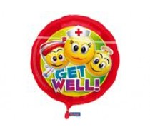 Folie Ballon: Get Well