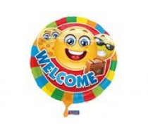 Folie Ballon: Welcome