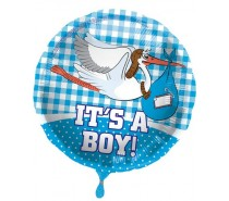 Folie Ballon: It's a Boy!
