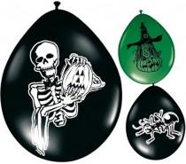 Ballonnen: 12In/30cm Halloween Mix 8 st.