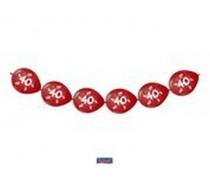 Knoopballonnen 40 Jaar Jubileum