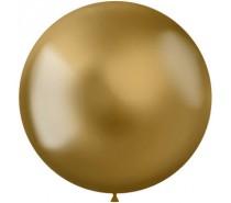 Ballonnen Intense Goud 48cm - 5 stuks.