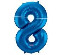 Cijfers shapes nr 8  34 inch (85 cm)  4 kleuren
