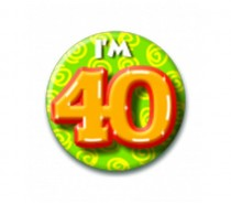 Button 40 jaar
