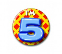 Button 05 jaar
