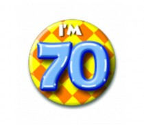 Button 70 jaar