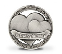 Geluksmunt: In Loving Memory (open munt)