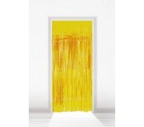 Deurgordijn Folie Goud 2x1m