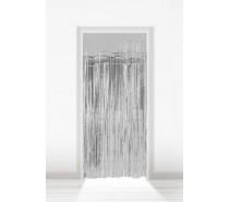 Deurgordijn Folie Zilver 2x1m