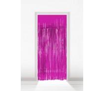 Deurgordijn Folie Roze 2x1m
