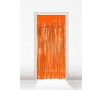 Deurgordijn Folie Oranje 2x1m