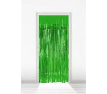 Deurgordijn Folie Groen 2x1m