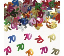 Tafeldeco/sier-confetti: 70